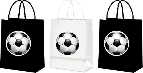Sacolinhas Futebol (preto E Branco) 10 Unidades