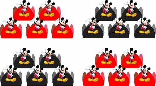 50 Forminhas Do Mickey