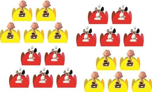 50 Forminhas Snoopy