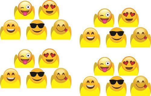 50 Forminhas Do Emoji