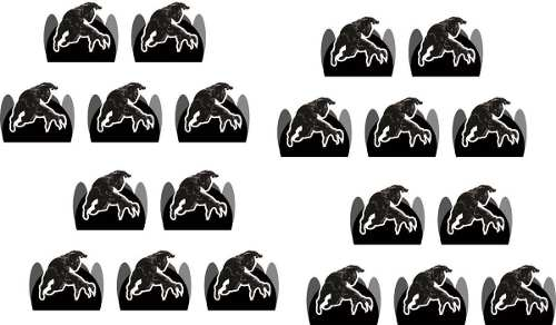 50 Forminhas Pantera Negra