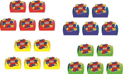 50 Forminhas Lego