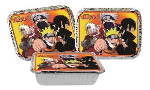 Kit Festa Infantil Naruto 352 Peças (50 pessoas)