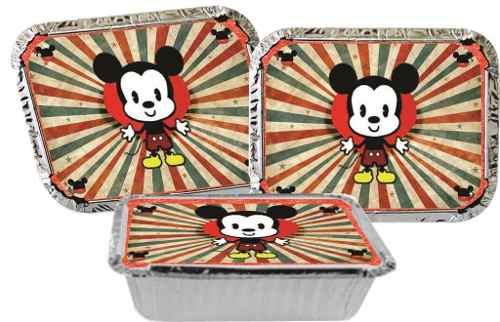 Kit Festa Infantil Mickey Vintage 352 Peças (50 pessoas)