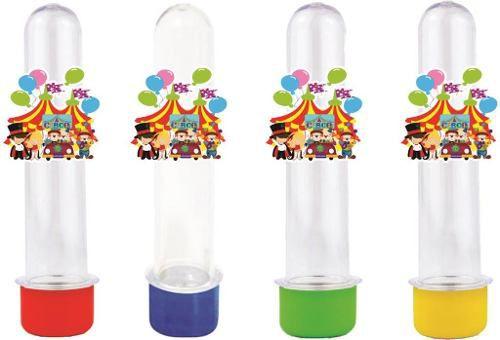 Kit Festa Infantil Circo 293 Pças (30 pessoas)