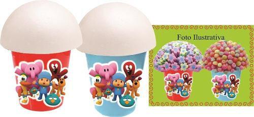 Kit Festa Infantil Pocoyo (colorido) 155 Peças (20 pessoas)