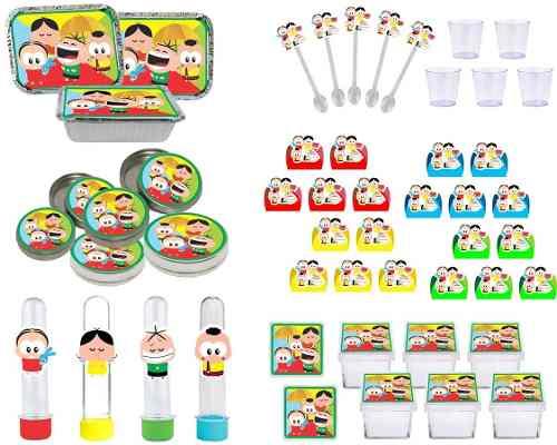 Kit Festa Turma Do Cebolinha Toy 170 Peças (20 pessoas)