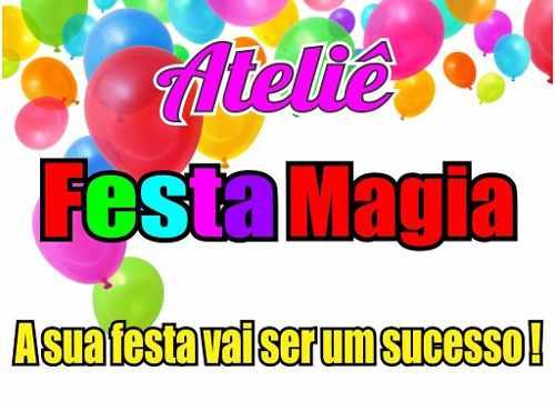 Kit Festa Infantil Pica Pau 265 Peças (30 pessoas)
