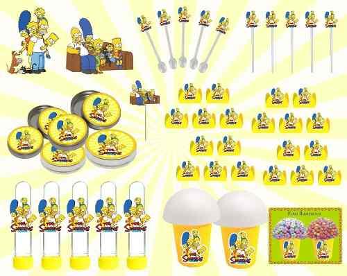 Kit Festa Os Simpsons 143 Peças (20 pessoas)