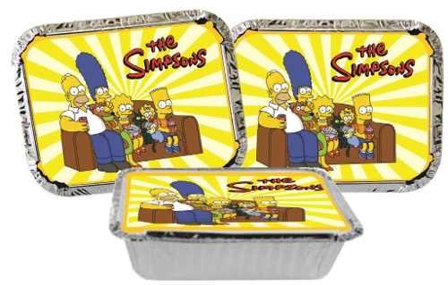 Kit Festa Infantil Os Simpsons 178 Peças (20 pessoas)