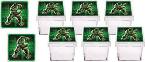 Kit Festa Infantil Hulk 107 Peças (10 pessoas)