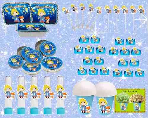 Kit Festa O Pequeno Príncipe Baby 160 Peças (20 pessoas)