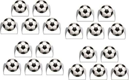Kit Festa Futebol (branco) 265 Peças (30 pessoas)