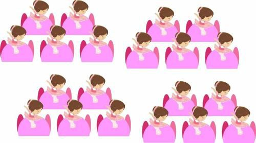 Kit Festa Infantil Bailarina 178 Pças (20 pessoas)