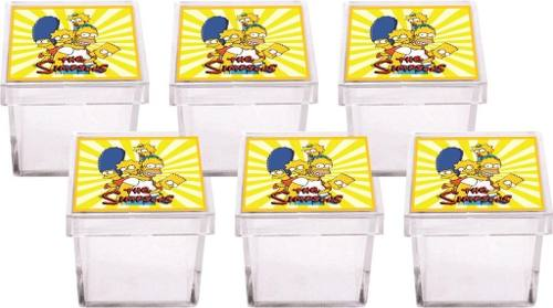 Kit Festa Os Simpsons 107 Peças (10 pessoas)