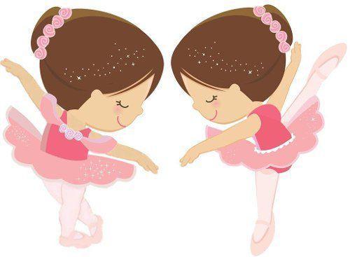 Kit Festa Infantil Bailarina 265 Peças (30 pessoas)