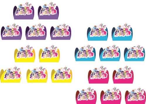 Kit Festa My Little Pony 107 Peças (10 pessoas)