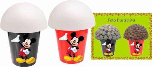 Kit Festa Infantil Mickey 143 Peças (20 pessoas)