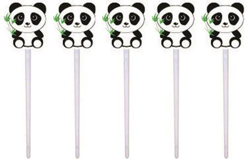 Kit Festa Infantil Panda Preto E Branco 265 Peças
