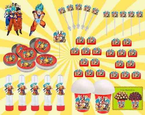 Kit Festa Infantil Dragon Ball Super 265 Peças