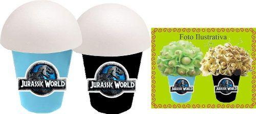Kit Festa Infantil Jurassic World 265 Peças (30 pessoas)