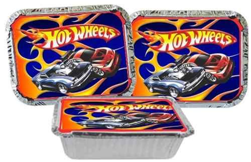 Kit Festa Hot Wheels 114 Peças (10 pessoas)