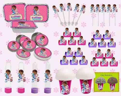 Kit Festa Infantil Dra Brinquedo 160 Peças (20 pessoas)