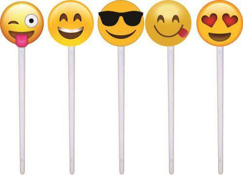 Kit festa  Emoji 265 Peças (30 pessoas)