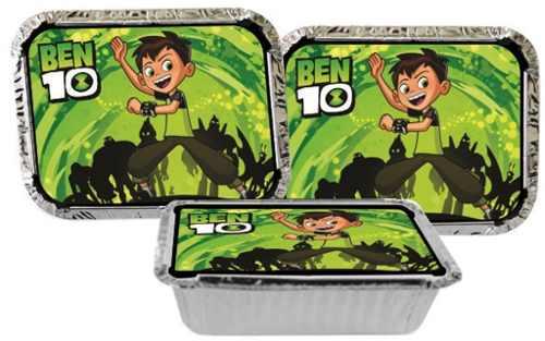 Kit Decorativo Infantil Ben 10 (178) Peças (20 pessoas)