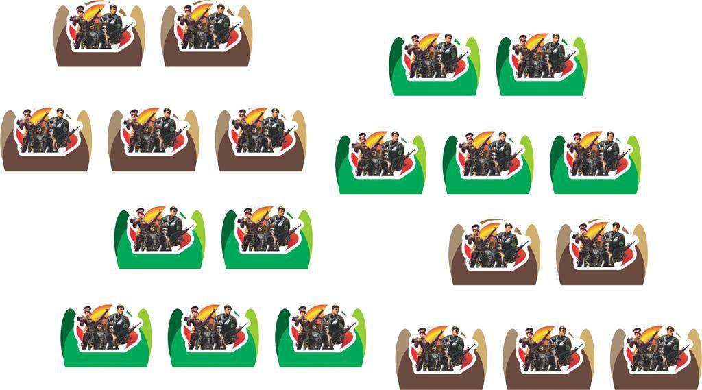 Festa Free Fire 153 peças (20 pessoas)