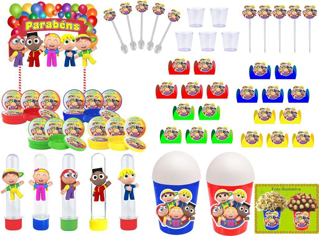 Festa os Pequerruchos 153 peças (20 pessoas)