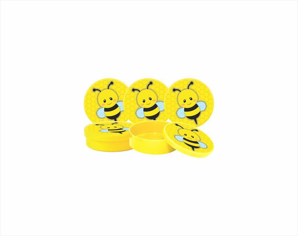 Kit Festa Abelha (abelhinha) 363 Peças (20 pessoas)