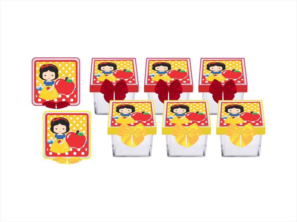 Kit festa decorado Branca de Neve Baby (cute) 173 peças (20 pessoas)