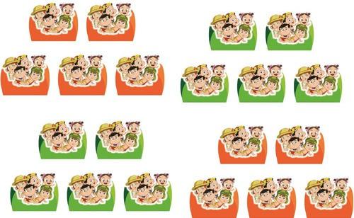Kit festa Chaves Baby 99 peças (10 pessoas)