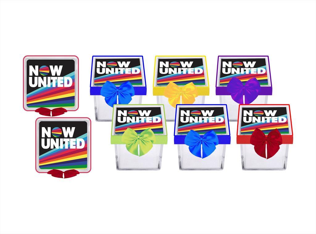 Kit festa decorado Now United (color) 191 peças (20 pessoas)