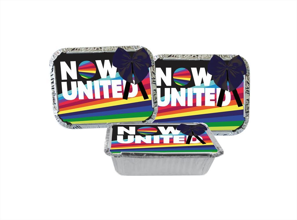 Kit festa decorado Now United  (preto) 191 peças (20 pessoas)