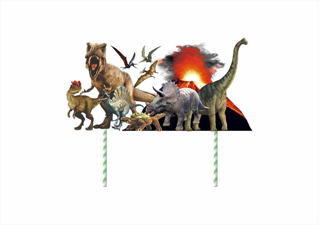 Kit Festa Dinossauro (Jurassic) 61 peças