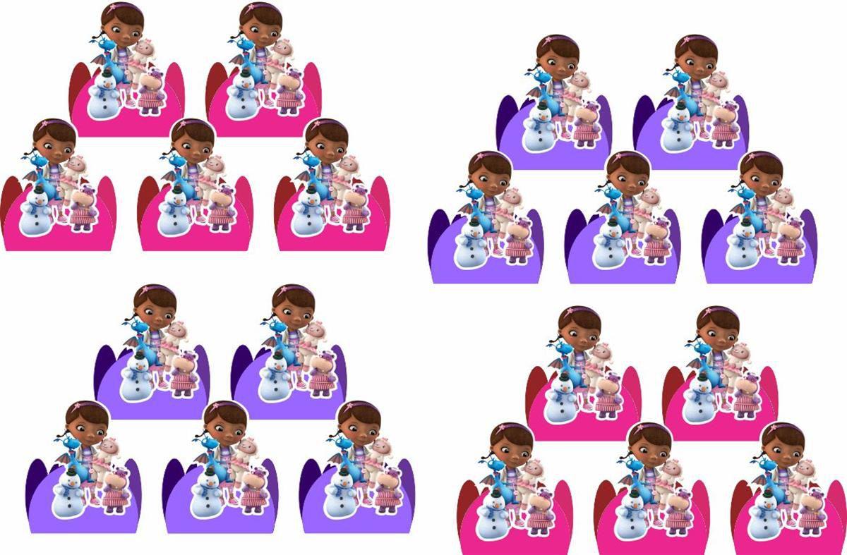Kit festa Dra Brinquedo 143 peças (20 pessoas)
