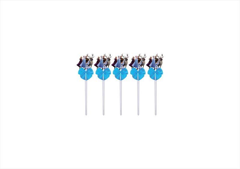 Kit festa decorado Frozen 2 (azul)  113 peças (10 pessoas)