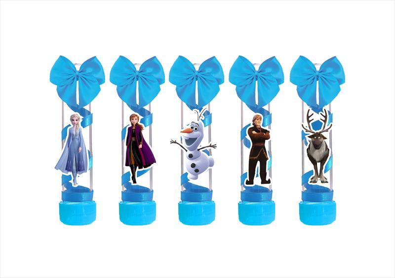 Kit festa decorado Frozen 2 (azul )  121 peças (10 pessoas)
