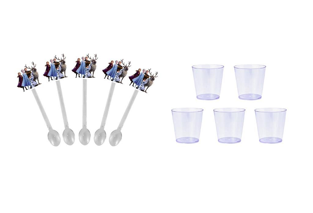 Kit festa Frozen 2 (113 peças) 10 pessoas