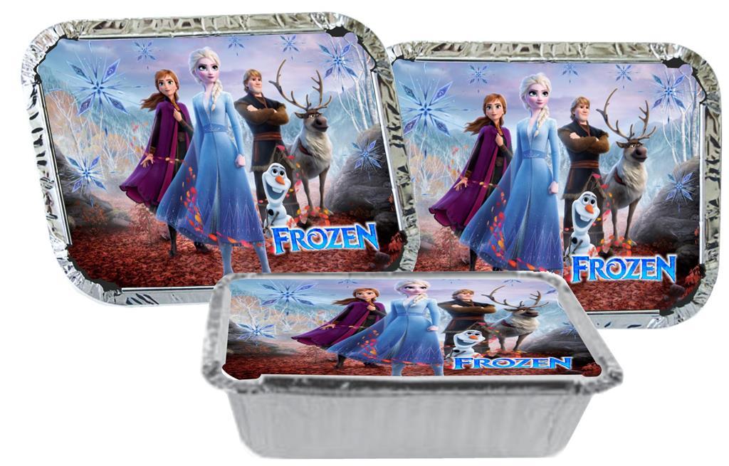 Kit festa Frozen 2 (191 peças) 20 pessoas