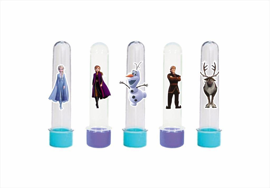 Kit festa Frozen 2 (azul e lilás) 191 peças (20 pessoas)
