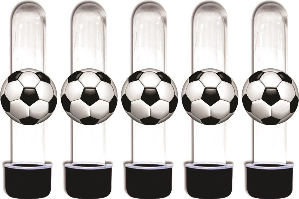 kit festa Futebol (preto) 152 peças (20 pessoas)