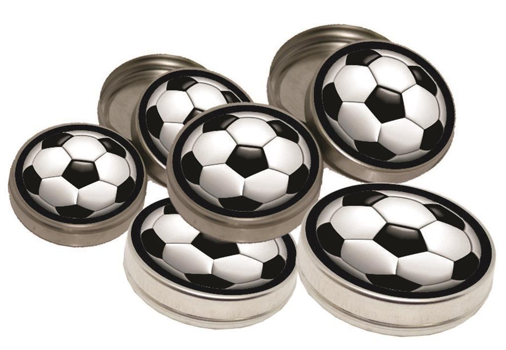 kit festa Futebol (preto) 152 peças