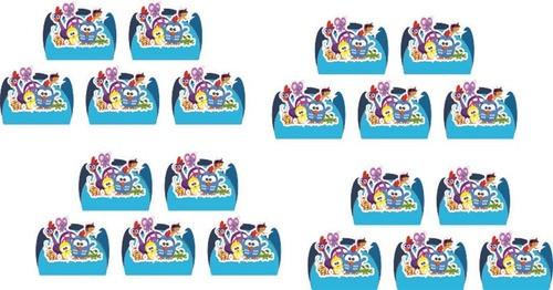 Kit Festa Galinha Pintadinha Mini menino 265 Peças (30 pessoas)