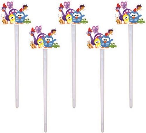 Kit festa Galinha Pintadinha mini menino 99 peças (10 pessoas)