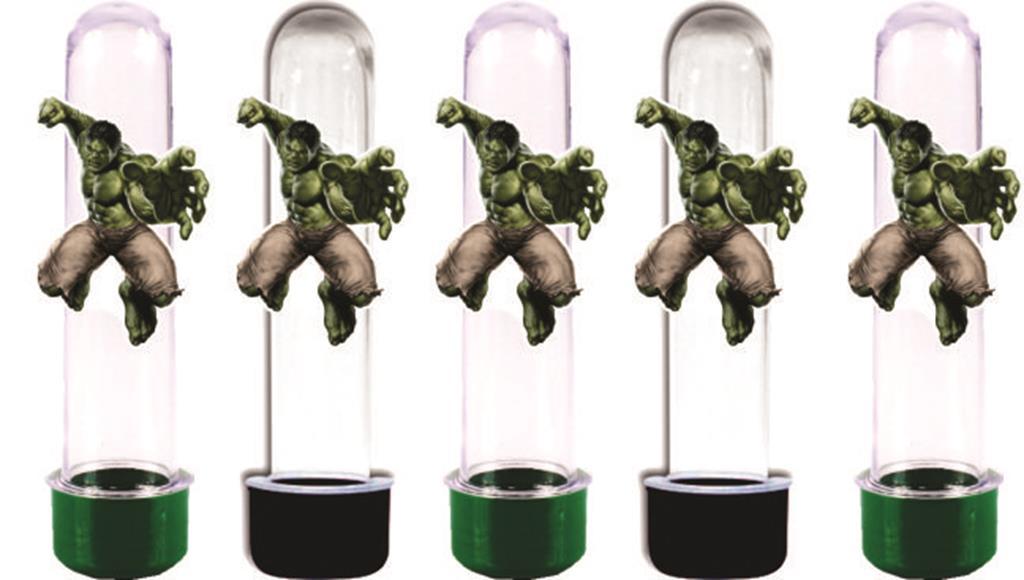 Kit festa Hulk 143 peças (20 pessoas)