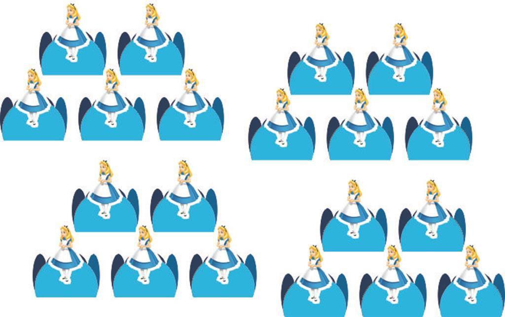 Kit Festa  Alice No Pais Das Maravilhas 143 Peças (20 pessoas)