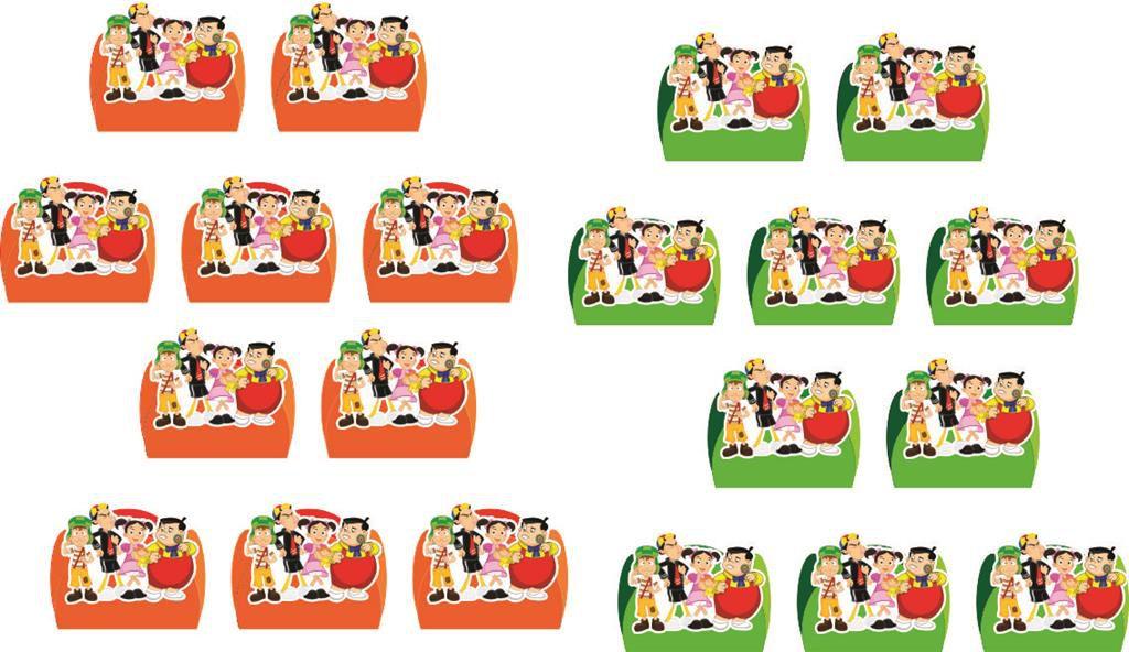 Kit Festa Infantil Chaves 160 Pças (20 pessoas)